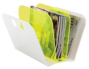 Magazine Fan - Yellow/White